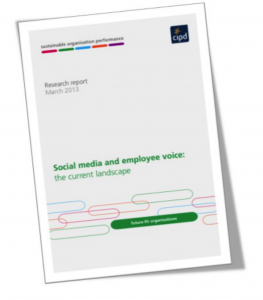 Social Media and Employee Voice report